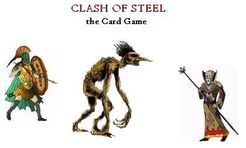 Clash of Steel: The Card Game (Fantasy Edition)