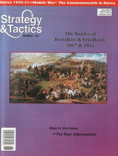 Clash of the Eagles: Borodino & Friedland