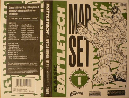 Classic Battletech Map Compilation 1
