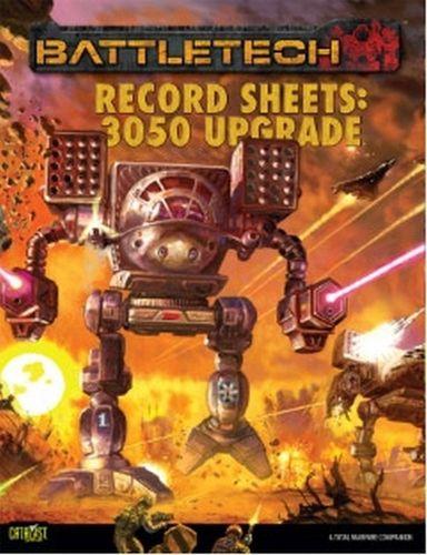 Classic Battletech: Record Sheets – 3050 Upgrade