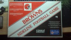 Cleveland Browns Sideline Football Game