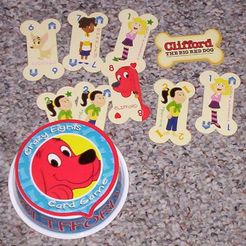 Clifford Crazy Eights Card Game