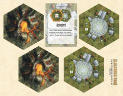 Clockwork Wars: Academy & Volcano Bonus Tiles