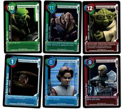 Clone Wars Adventures Trading Card Game