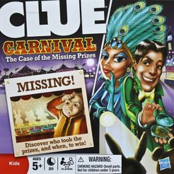 Clue: Carnival – The Case of the Missing Prizes