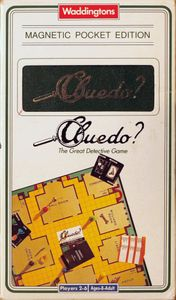 Cluedo: Magnetic Pocket Edition