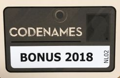 Codenames: Bonuskaarten 2018