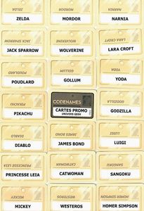 Codenames: Cartes promo – Univers Geek