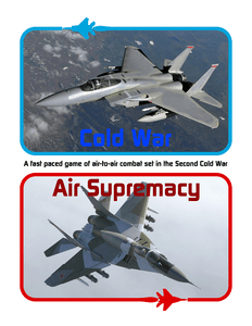 Cold War Air Supremacy: A Fast Paced Game of Air-to-Air Combat Set in the Second Cold War