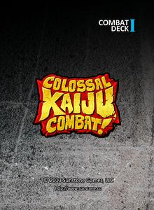 Colossal Kaiju Combat!