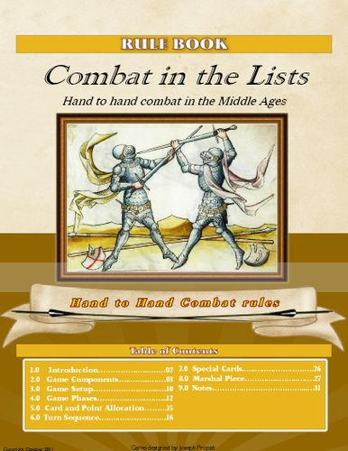 Combat in the Lists