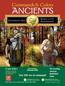 Commands & Colors: Ancients Expansion Pack #2 – Rome vs the Barbarians