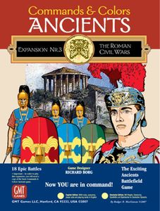 Commands & Colors: Ancients Expansion Pack #3 – The Roman Civil Wars
