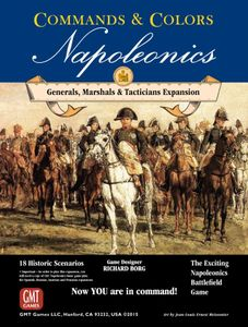 Commands & Colors: Napoleonics Expansion #5 – Generals, Marshals, Tacticians