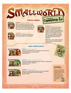 Community's Compendium I (fan expansion for Small World)