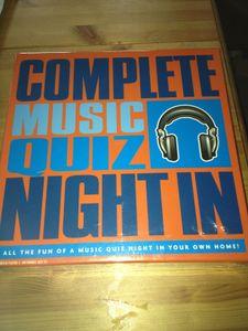 Complete Music Quiz Night In