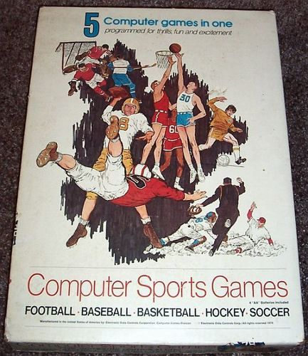 Computer Sports Games: Football, Baseball, Basketball, Hockey, Soccer