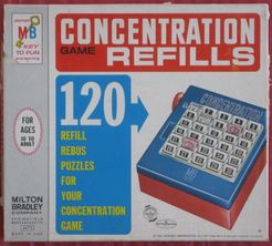 Concentration Game Refills