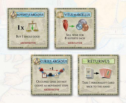 Concordia: 8 Forum Cards mini-expansion