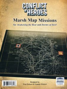 Conflict of Heroes Expansion Pack: Map Board #6 – The Marsh