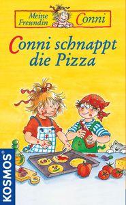 Conni schnappt die Pizza