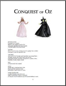 Conquest of Oz