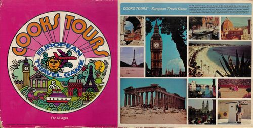 Cooks Tours: European Travel Game