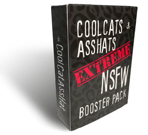 CoolCats & AssHats: Extreme NSFW Booster Pack