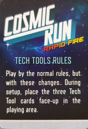 Cosmic Run: Rapid Fire – Tech Tools Promo Pack