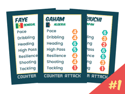 Counter Attack: Player Cards Set #1
