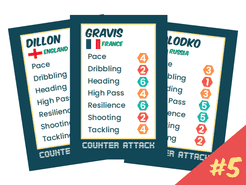 Counter Attack: Player Cards Set #5