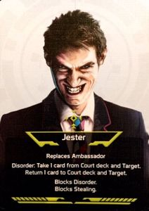 Coup: Jester and Bureaucrat Promo Cards
