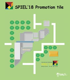 Courier: Spiel'18 Promotion tile