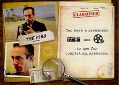 Covert: The King Character Card