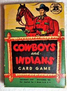 Cowboys and Indians Card Game