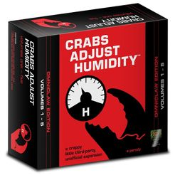 Crabs Adjust Humidity: Omniclaw Edition (unofficial expansion for Cards Against Humanity)