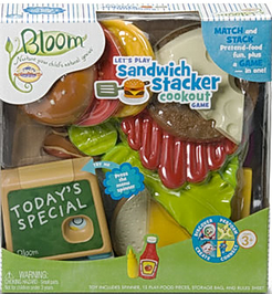 Cranium Bloom: Let's Play Sandwich Stacker Cookout Game