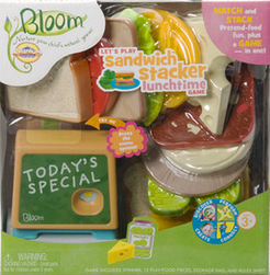 Cranium Bloom: Let's Play Sandwich Stacker Lunchtime Game
