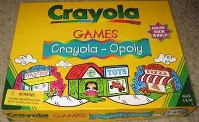 Crayola-Opoly