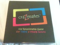 CraZmates the Relationship Board Game for Teens & Young Adults