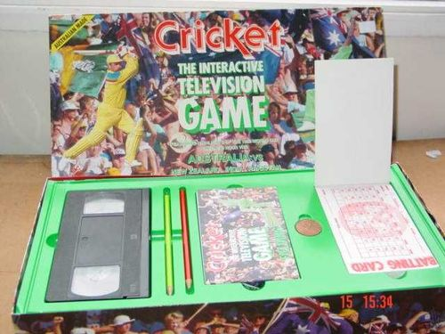 Cricket: Interactive Television Game