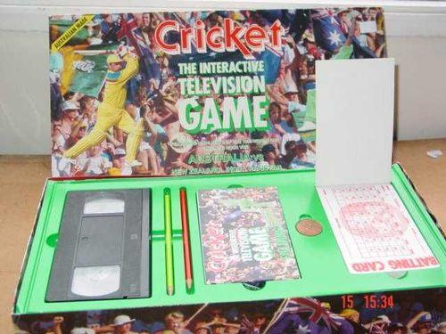 Cricket: Interactive Television Game
