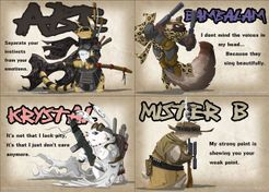 Cross Hares: Testing Ground – Kickstarter Custom Character Expansion Pack