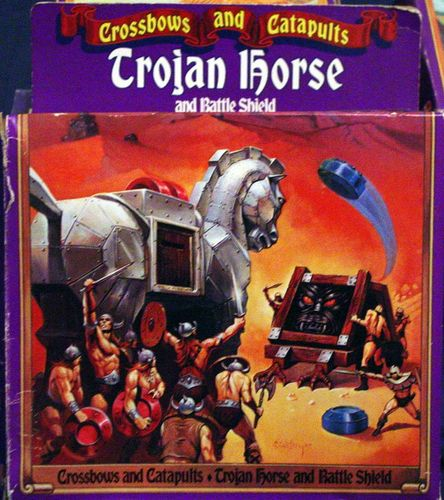 Crossbows and Catapults: Trojan Horse and Battle Shield