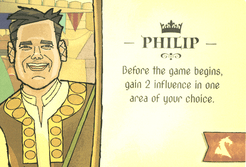Crown of Aragón: Philip Leader Promo Card