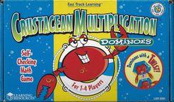 Crustacean Multiplication Dominoes