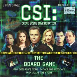 CSI: Crime Scene Investigation – The Board Game