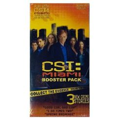 CSI: Miami Booster Pack