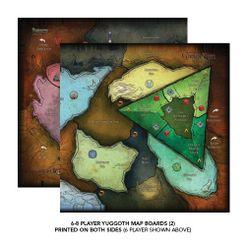 Cthulhu Wars: Six to Eight Player Yuggoth Map