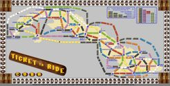 Cuba (fan expansion for Ticket to Ride)